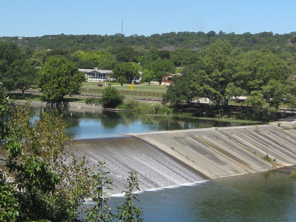 Guadalupe River near Ingram, Texas